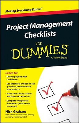 Project Management Checklists For Dummies (Paperback), Graham, Nick, 9781118931.