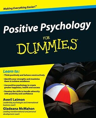 Positive Psychology For Dummies by Gladeana McMahon Paperback Book (English)