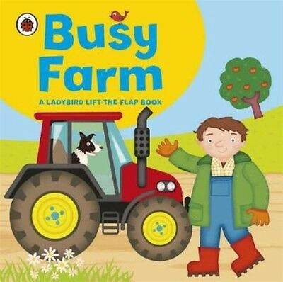 Ladybird Lift-the-flap Book: Busy Farm by Amanda Archer Board Books Book (Englis