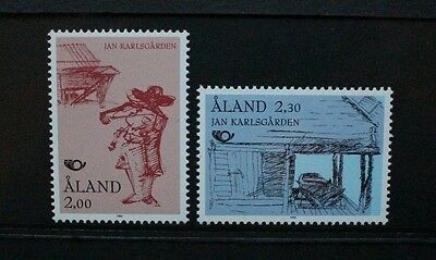 ALAND 1993 Nordic Postal Co-operation. Set of 2. Mint Never Hinged. SG66/67.