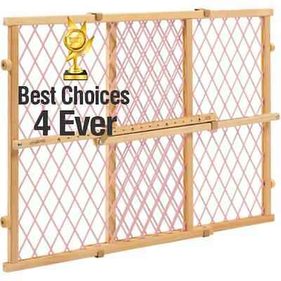 Evenflo Safety Gate Position and Lock Wood Baby Child Infant Pet Safe Gate, NEW