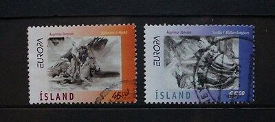 ICELAND 1997 Europa Tales & Legends. Set of 2. Fine USED. SG885/886.