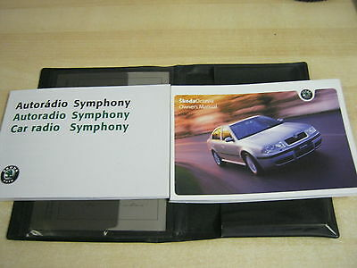 Skoda Octavia  Drivers Handbook Pack Owners Manual  Wallet  1998-2005