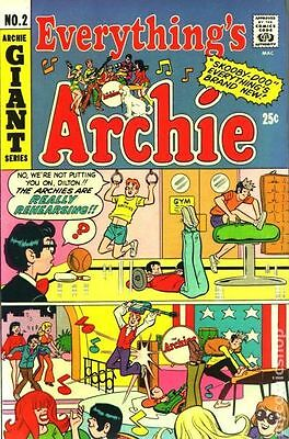 Everything's Archie (1969) #2 VG- 3.5 LOW GRADE