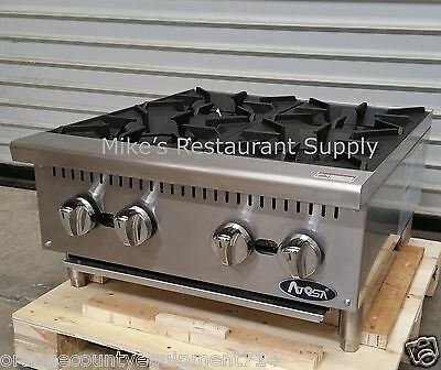 """NEW 24"""" Hot Plate Cook Top Range Atosa ATHP-24-4 #2547 Commercial Stove Burner"""
