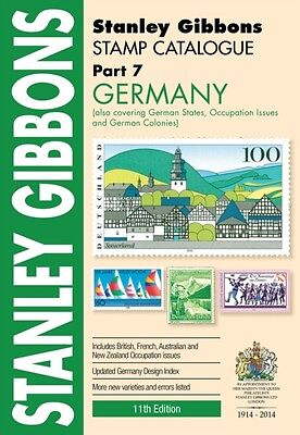 Stamp Catalogue Part 7 Germany (Paperback), STANLEY GIBBONS, 9780852599419