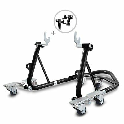 Cavalletto alza moto posteriore DS ConStands Mover carrello sposta moto