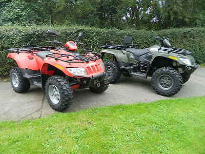 ARCTIC CAT 700 Diesel ATVs Road legal 4x4 quad bike