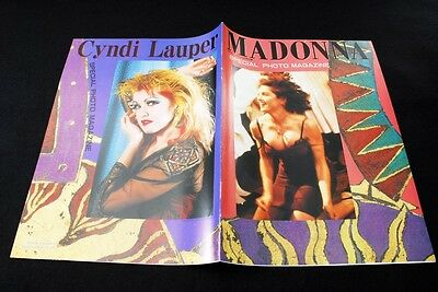 1989 Rare A special appendix for the IN ROCK Cyndi Lauper & Madonna (mn15)