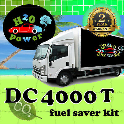 DC4000T HHO DRY CELL HYDROGEN GENERATOR KIT FOR TRUCKS FROM 4,400cc TO 10,000cc