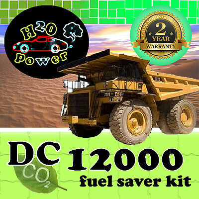 DC12000T HHO DRY CELL GENERATOR PnP BLACK BOX FOR TRUCKS FROM 16000cc TO 32000cc