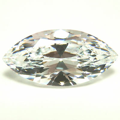 3Ct Marquise Cut D Color VVS1 My Russian Diamond Simulated Man Made Loose Stone
