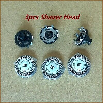 3pcs Replacement shaving heads RQ11 for Philips Norelco 1150x 1160x 1180x shaver