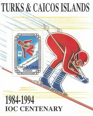 (87677) Turks & Caicos MNH Olympic Games 1994
