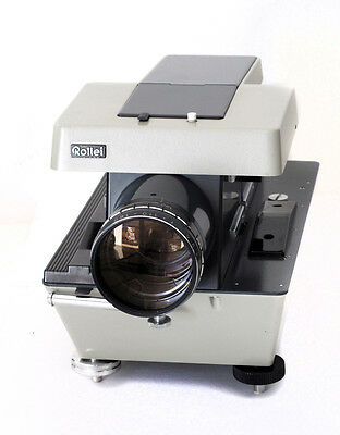 Rollei P11 MEDIUM FORMAT Slides Projector 6x6 with Lens Proiettore