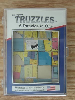 Truzzles United States Map Edition Puzzle