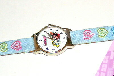 True Vintage PowerPuff Girls Blossom Mystery Dial Watch New 2002 NOS Tags
