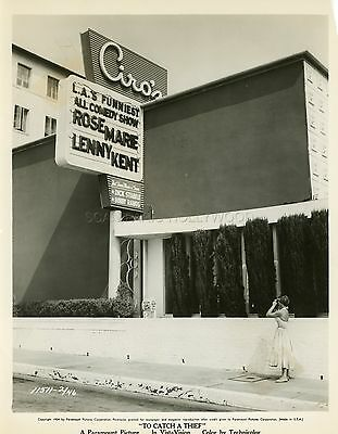 Grace Kelly Alfred Hitchcock To Catch A Thief 1955 Vintage Photo Original