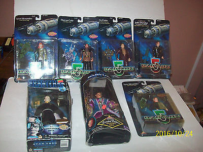 Babylon 5  Space Station  Action Figures And More In Packages