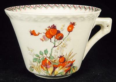 Myott Art Deco Orange Buds/Berries Cup (2 available)