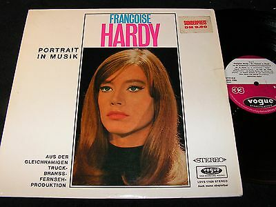 FRANCOISE HARDY Portrait in Musik / German LP 1965 VOGUE LDVS 17028
