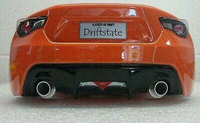 Exhaust Pipe Dummy for 1/10 RC DRIFT Car with angled tip.CNC Billet alloy hop up