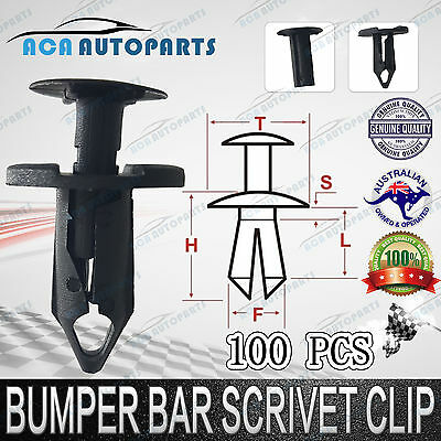 Clips for Holden Commodore VY VZ VE Inner Guards Splash Guards Cold Air Intakes