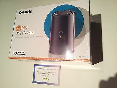 D-Link AC750 Blazing fast Dual Band Wi-Fi Wireless Router DIR-817LW/B