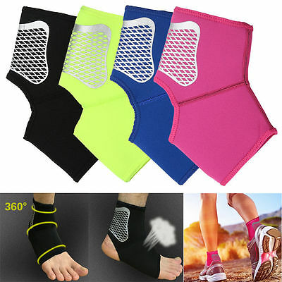 Neoprene Sport Basketball Ankle Foot Elastic Brace Support Wrap Protective Grear