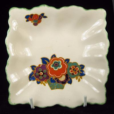 Swinnertons Staffordshire Retro Flowers Square Dish