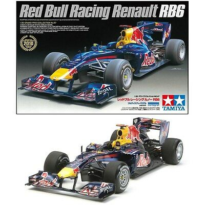 Tamiya 20067 1/20 RED BULL Racing F1 RENAULT RB6 w/Photo Etched Parts Cartograf