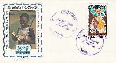(90345) CLEARANCE Cameroon FDC Year of the Child 10 October 1979
