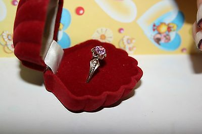 MAGIC Vintage Natural Tourmaline Ring Silver 925 USSR Antique SIZE 10