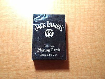 Jack Daniels Poker Size Playing Cards New Made In Usa
