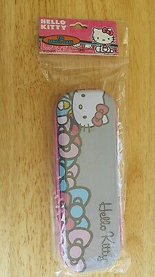 Hello Kitty Tin Pencil Case Zippered  ships from US New in package
