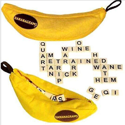 English Words Bananagrams Puzzles 24 Characters Education Toy Games For Kids