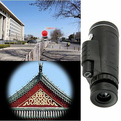 New Outdoor Day&Night Vision 40X60 HD Optical Monocular Hunting Hiking Telescope