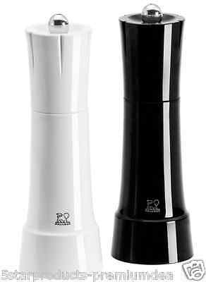 New Peugeot Chess Salt And Pepper Set Stainless Steel Grinding Grinder Kitchen
