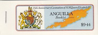 (91771) Anguilla Booklet Coronation 1978