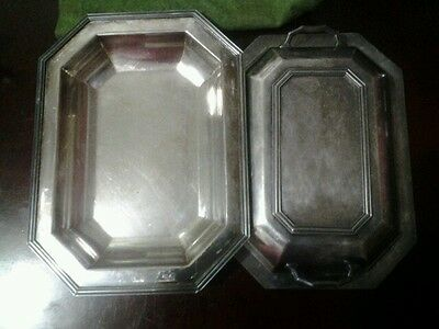 Ep.n.s. Covered Veggie Dish Silver Plated