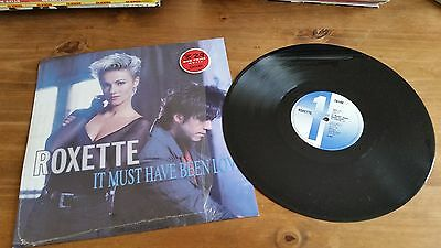 "Roxette It Must Have Been Love 12"" Single Vinyl Record"