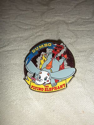 Disney Pin Dumbo Flying Elephant Mickeys Circus Glitter Filled  Authentic New