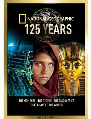 National Geographic: 125 Years Collection [10 Discs] (2013, DVD NEW)