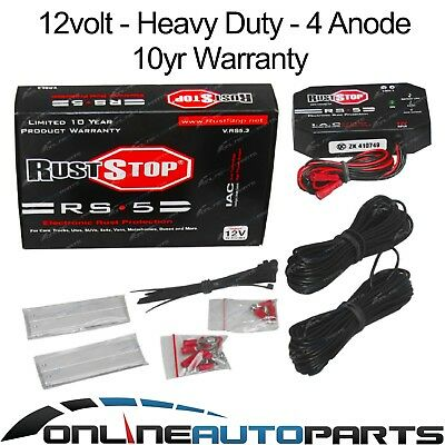 Rust-Stop Electronic Rust Protection System for Cars, Utes 12 volt - 4 Electrode