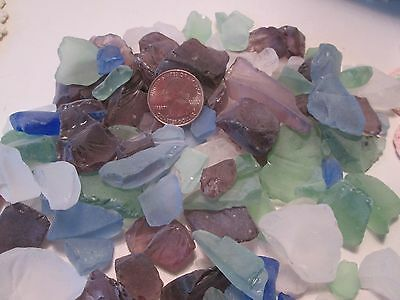 Lot of Sea Glass Amazing Colors Great Variety For Shabby Chic Decor