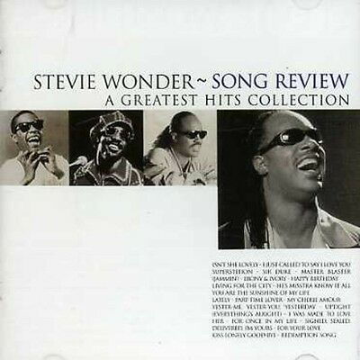Stevie Wonder - Song Review: Greatest Hits Collection [New CD]