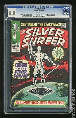 Silver Surfer (1968 1st Series) #1 CGC 8.0 (0090029005)