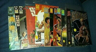 doc savage the man of bronze 12 issue comics lot age run set collection movie