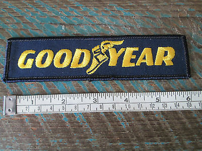 New Vintage Goodyear Patch Tire Rubber Company Nascar Scca Can Am Racing F1 Imsa