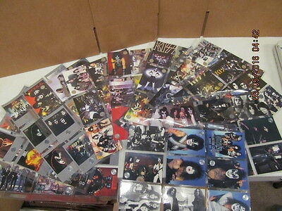 1997 Kiss Collectors Cards Series One 1-90 and Extras  Great Set Kisstory